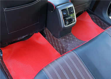 Vinyl Flooring mat anti-slip pvc car roll mat item AT5015 red black grey bronze